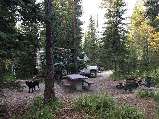 Emery Bay Campground Hungry Horse Reservoir Site 9