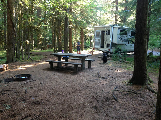Breitenbush Campground